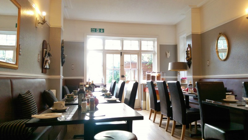 Breakfast Room - Hotel in Bromley Kent